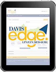 Davis Edge for LPN/LVN Med-Surg : Online Review for Test Prep & Success