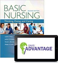 Davis Advantage for Basic Nursing: Thinking, Doing, and Caring